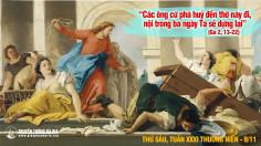 09.11.2018 Thứ sáu Cung hiến Thánh đường Latêranô