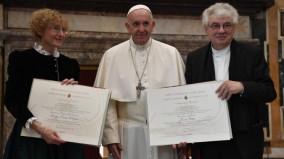 2 nhân vật được giải thưởng Ratzinger-Biển Đức 16 năm 2018