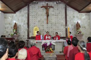 Tin Ảnh: Các Gx. Bông Trang, Văn Côi và Hòa Phước hành hương Nhà thờ Mồ Bà Rịa