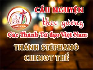Cầu nguyện theo gương các Thánh Tử đạo Việt Nam: THÁNH STÊPHANÔ CUENOT THỂ Giám mục Thừa sai Paris