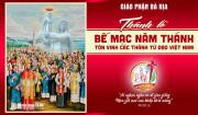 Trích đoạn Phim Lễ Tuyên phong Hiển thánh cho 117 vị Tử đạo tại Việt Nam