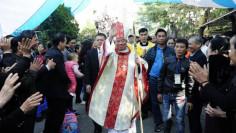 Đức cha Giuse Vũ Văn Thiên chính thức nhận sứ vụ Tổng Giám mục tại Tổng Giáo phận Hà Nội