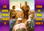 BẢN VĂN BÀI ĐỌC TRONG THÁNH LỄ- TUẦN III và CN IV MÙA VỌNG – NĂM C