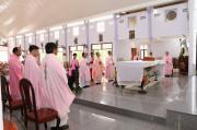 Tin ảnh: Gx. Hữu Phước: Thánh lễ khai mạc ngày chầu Thánh Thể thay Giáo phận 2018