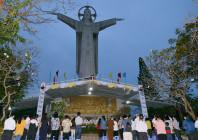 Đức Giám mục Giáo phận dâng lễ đầu thánh kính Chúa Kitô Vua tại Tượng đài Chúa Kitô Vua - Núi Tao Phùng