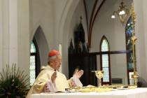 Đức Hồng Y Phê-rô dâng Thánh lễ tạ ơn, kết thúc sứ vụ mục tử 04/12/2018