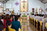 Tin ảnh: Gx. Phước Chí: Mừng lễ Đức Mẹ Vô Nhiễm Nguyên Tội- Bổn mạng giáo xứ