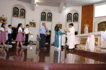 Gx. Chánh Tòa Bà Rịa: Mừng lễ Đức Mẹ Vô Nhiễm Nguyên Tội- Bổn mạng Giáo Họ Vô Nhiễm và Ca đoàn Thiếu nhi