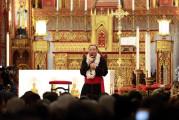 Video - Lần đầu tiên Đức Tân Tổng Giám mục Giuse  ngỏ lời với cộng đoàn dân Chúa