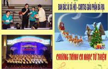 Thiệp mời Chương trình Ca nhạc Từ thiện do Ban Bác ái Xã hội Giáo phận Bà Rịa thực hiện