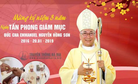 Mừng kỷ niệm ngày Tấn phong Giám mục của Đức cha Giáo phận
