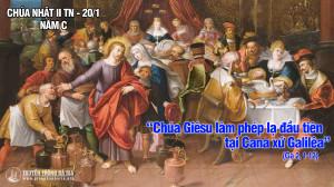 CÁC BÀI SUY NIỆM LỜI CHÚA CHÚA NHẬT II THƯỜNG NIÊN- C