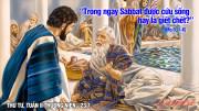 23.01.2019 – Thứ tư Tuần II Thường niên