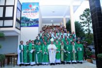 Tin Ảnh: Caritas Giáo tỉnh Sài Gòn họp mặt tại Đền Thánh Bãi Dâu