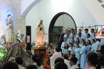 Tin Ảnh: Gx. Tân Phước: Mừng lễ kính Thánh Gia Thất- Bổn mạng Ca đoàn Thánh Gia