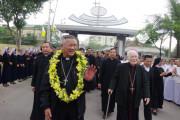 Đức Giám mục Anphongsô Nguyễn Hữu Long đã về với Giáo phận Vinh
