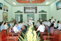 Tin ảnh: Giáo hạt Long Hương: Họp mặt mừng Xuân mới Kỷ Hợi 2019