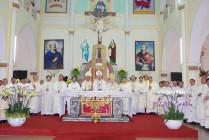 Thánh lễ tạ ơn kết thúc sứ vụ tại Giáo phận Vinh của Đức Giám mục Phaolô Nguyễn Thái Hợp