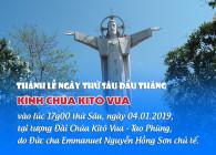 THÔNG BÁO: Thánh lễ kính Chúa Kitô tại Núi Tao Phùng ngày thứ Sáu đầu tháng