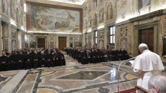 ĐTC tiếp Học Viện Thánh Augustino ở Roma