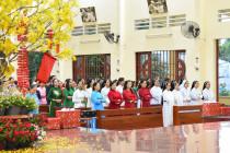 Tin ảnh: Gx. Long Tâm: Cử hành phụng vụ Tết Kỷ Hợi 2019