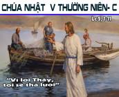 CÁC BÀI SUY NIỆM LỜI CHÚA CHÚA NHẬT V THƯỜNG NIÊN- C