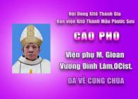 CÁO PHÓ: Viện phụ M. Gioan Vương Đình Lâm, OCist. qua đời