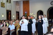 Gx. Chánh Tòa Bà Rịa: Thánh lễ kính nhớ tổ tiên, ông bà cha mẹ và cầu nguyện cho ơn gọi thánh hiến của giáo xứ
