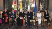 Các vị lãnh đạo Tòa Thánh gặp gỡ chính quyền Italia