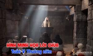 Hình minh họa Lời Chúa hằng ngày  Tuần V Thường niên