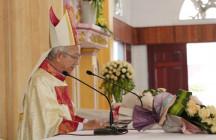 Tân Giáo phận Hà Tĩnh: Bài cám ơn của Đức Cha Phaolô Nguyễn Thái Hợp