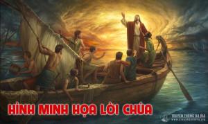 Hình minh họa Lời Chúa Tuần 5 Phục sinh – Năm C
