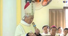 Bài cảm ơn của Đức Cha Alphongso Nguyễn Hữu Long nhân lễ nhận sứ vụ Chính Tòa Giáo phận Vinh