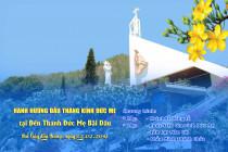 Thông báo: Hành hương Đức Mẹ Bãi Dâu