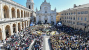ĐTC viếng thăm Đền thánh Đức Mẹ Loreto