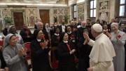 ĐTC tiếp đại gia đình dòng Thánh Camillo de Lellis