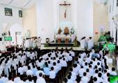 Gx. Tân Phước: Thánh lễ tạ ơn trùng tu thánh đường và Khánh thành nhà xứ