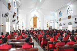 Tin ảnh: Hội Lòng Thương Xót Chúa Hạt Xuyên Mộc sinh hoạt tháng 03.2019
