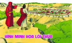 Hình minh họa Lời Chúa hằng ngày  Tuần I Mùa Chay - Năm C