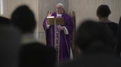 ĐTC: Con tim chai đá không còn tín trung, phỉ báng Thiên Chúa