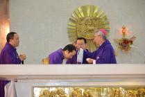Nhà thờ Chánh Toà Bà Rịa: Đức Giám mục giáo phận cử hành Lễ Tro- Khai mạc Mùa Chay Thánh 2019