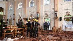 ĐTC cầu nguyện cho các nạn nhân khủng bố tại Sri Lanka