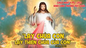 CÁC BÀI SUY NIỆM LỜI CHÚA CHÚA NHẬT II PHỤC SINH- C
