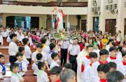 Tin Ảnh: Gx. Long Tâm: Mừng đại lễ Chúa Phục Sinh 2019