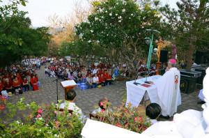 Núi Chúa Kitô Vua - Tao Phùng: Thánh lễ hành hương ngày Thứ Sáu đầu tháng 4