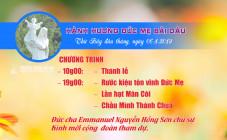 THÔNG BÁO: Hành hương Đức Mẹ Bãi Dâu - Tháng 04.2019