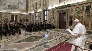 ĐTC tiếp kiến Hiệp Hội báo chí nước ngoài ở Italia