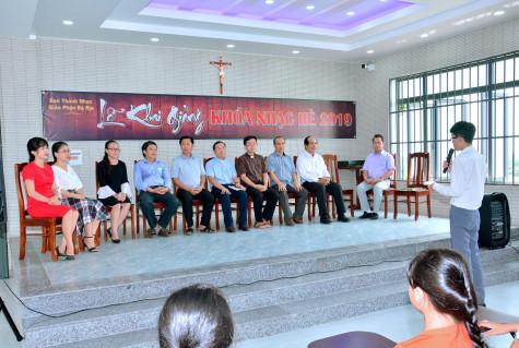 Gx. Vinh Châu: Ban Thánh nhạc Giáo phận khai giảng Khóa Thánh Nhạc hè 2019