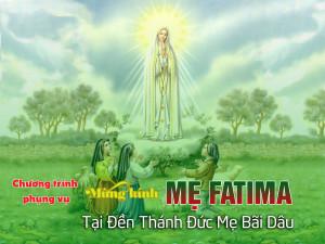 Khai mạc ngày hành hươngkính Mẹ Fatima tại Đền Thánh Đức Mẹ Bãi Dâu