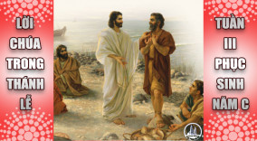 BẢN VĂN BÀI ĐỌC TRONG THÁNH LỄ TUẦN 3 PHỤC SINH – NĂM C